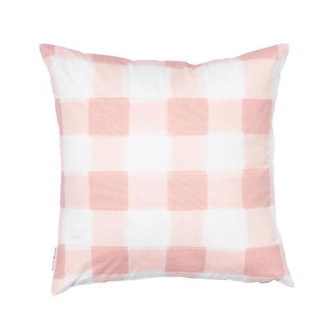Caitlin Wilson blush pink Burnside buffalo check pillow cover