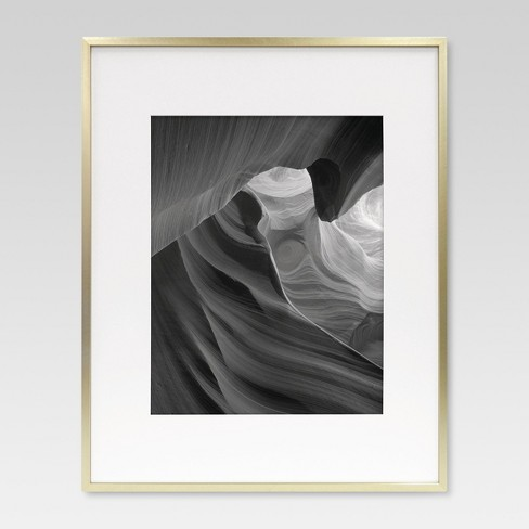Metal Frame - Brass - Matted Photo