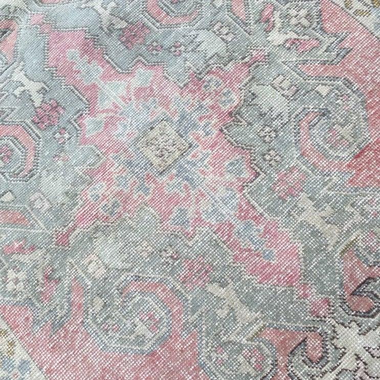 Vintage Turkish Rug - Pink
