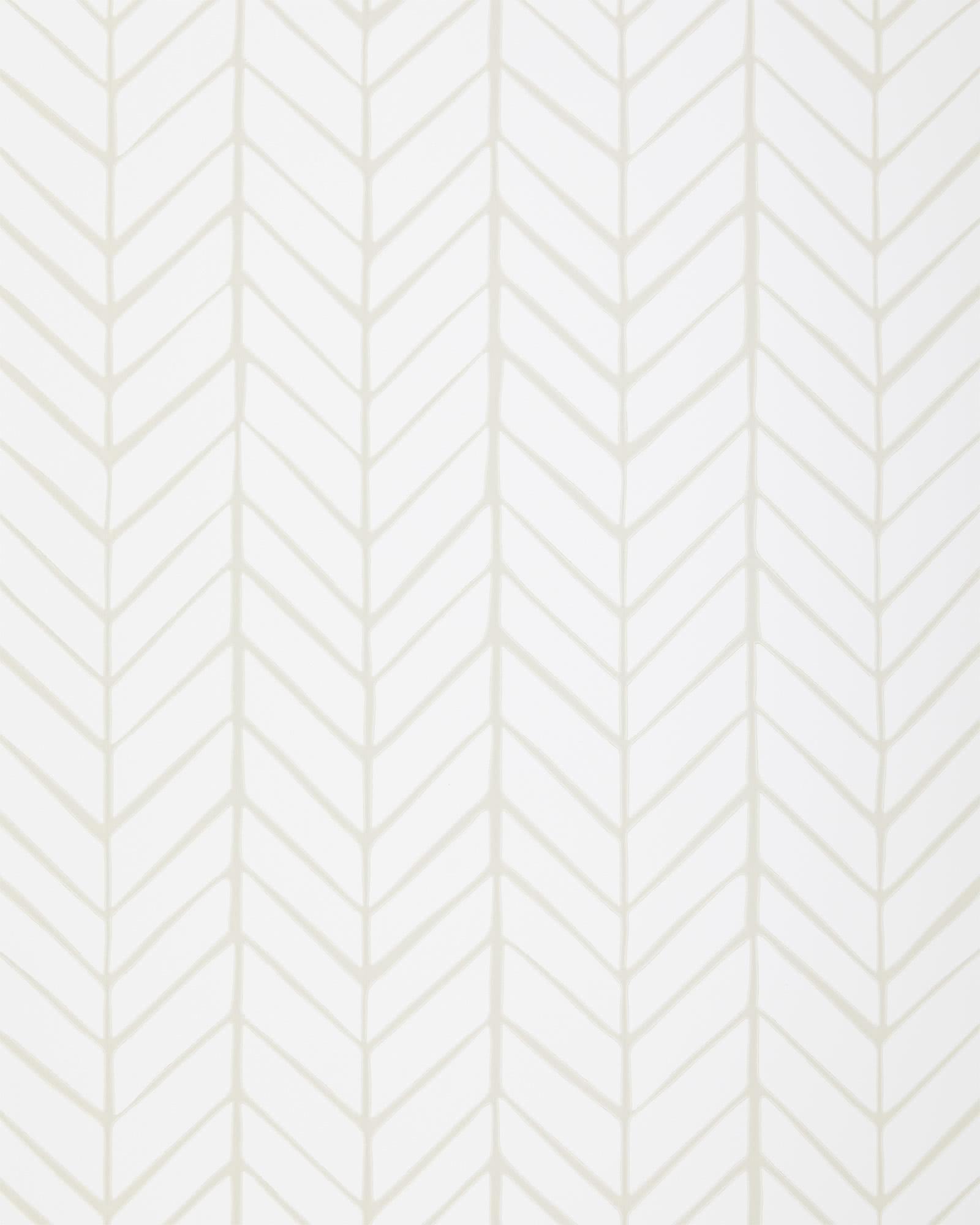 Feather Wallpaper - Bone