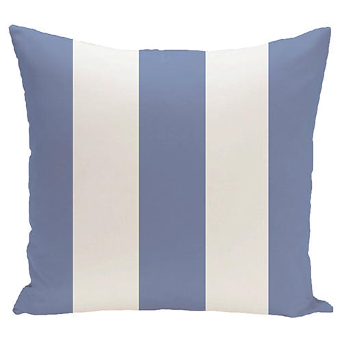 Awning-Stripe Outdoor Pillow