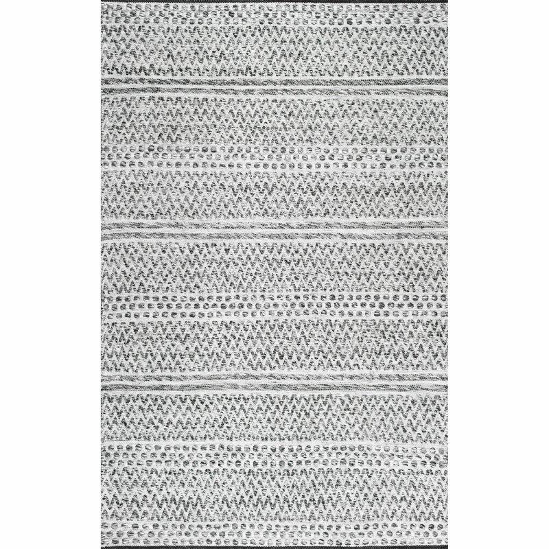Cordell Striped Handmade Flatweave Cotton
